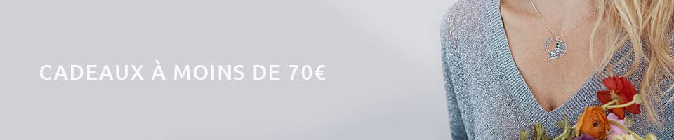 Cadeaux Bijoux Personnalisés à Moins de 70€