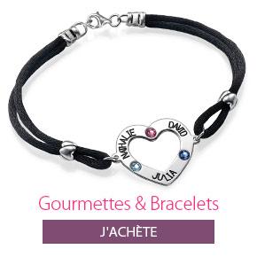 Gourmettes et Bracelets