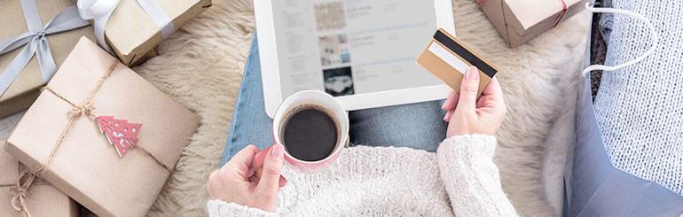 Guide du shopping de Noël en ligne en toute tranquillité