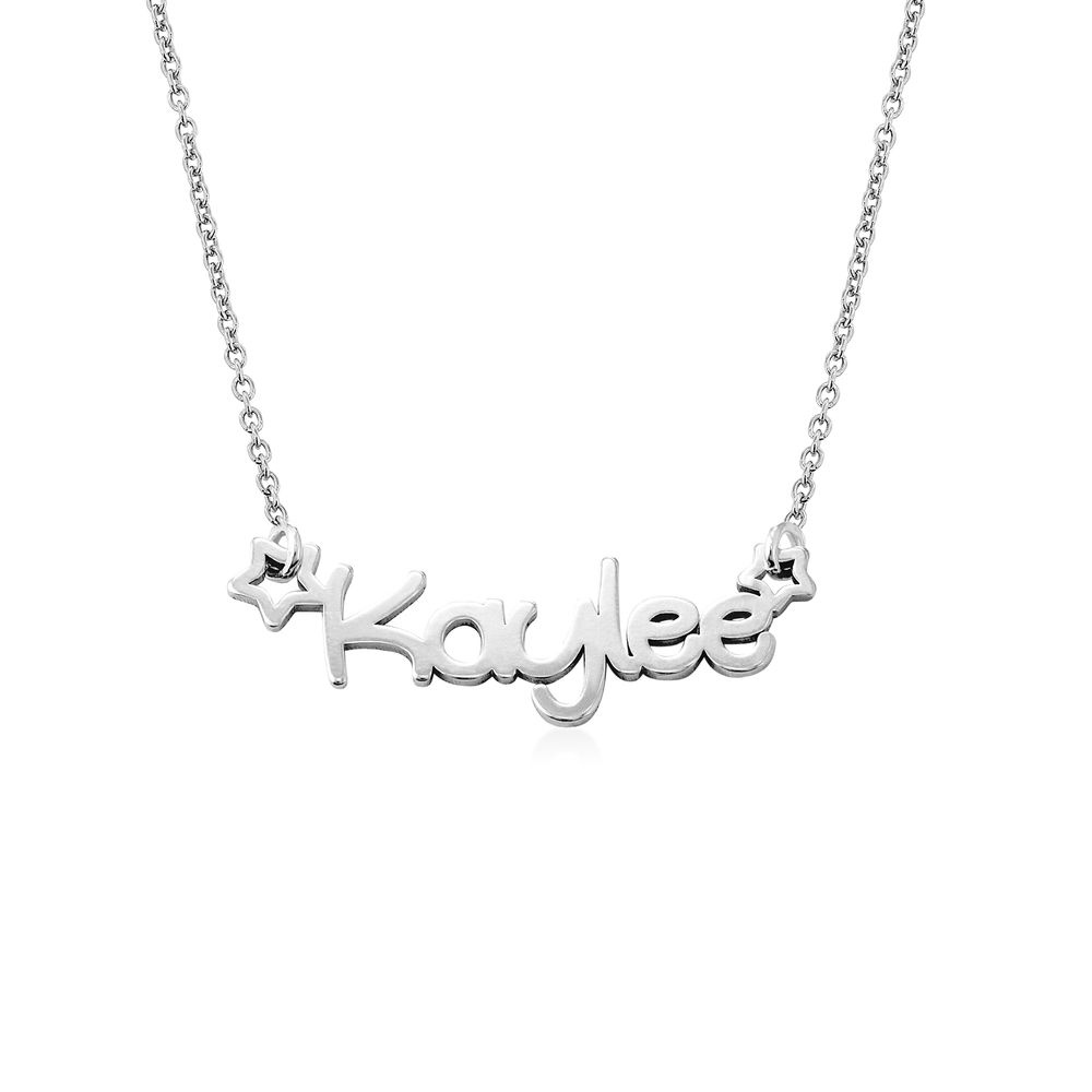 Girls Name Necklace in Sterling Silver