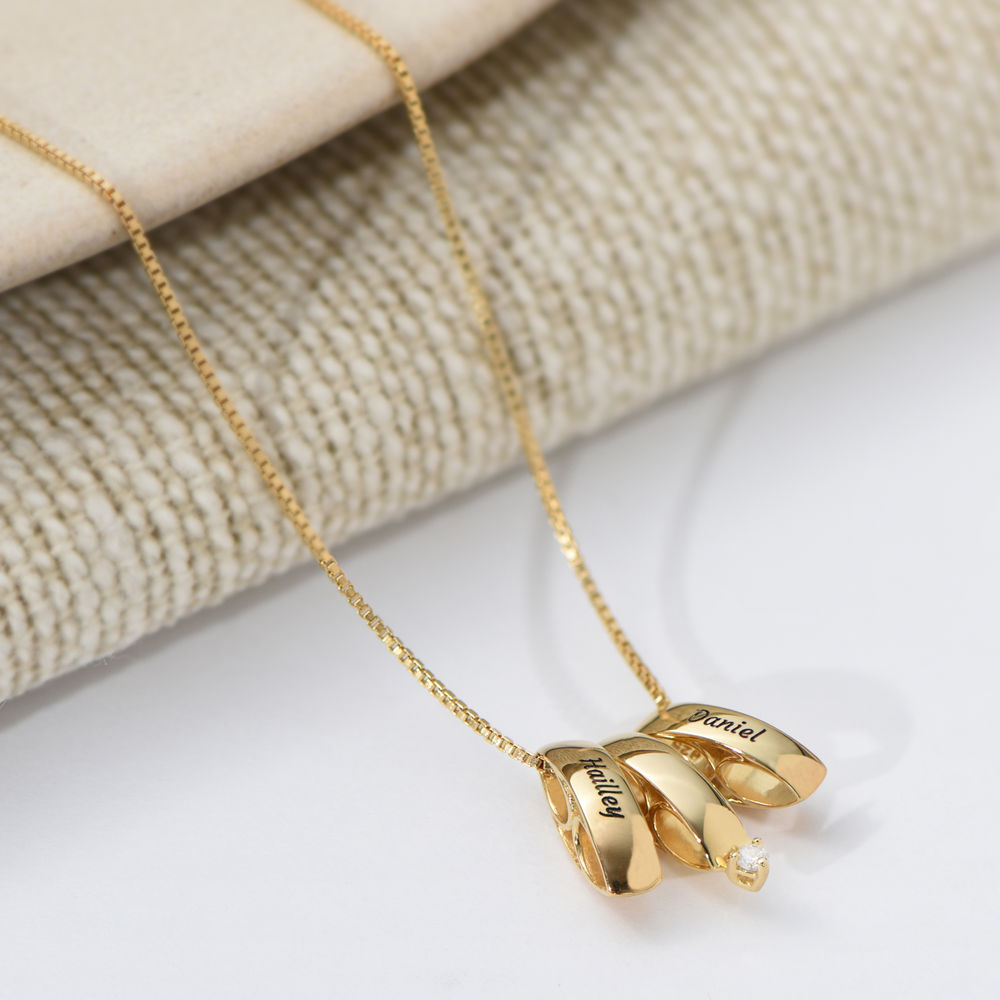 Whole Lot of Love Necklace in Gold Plating - 2