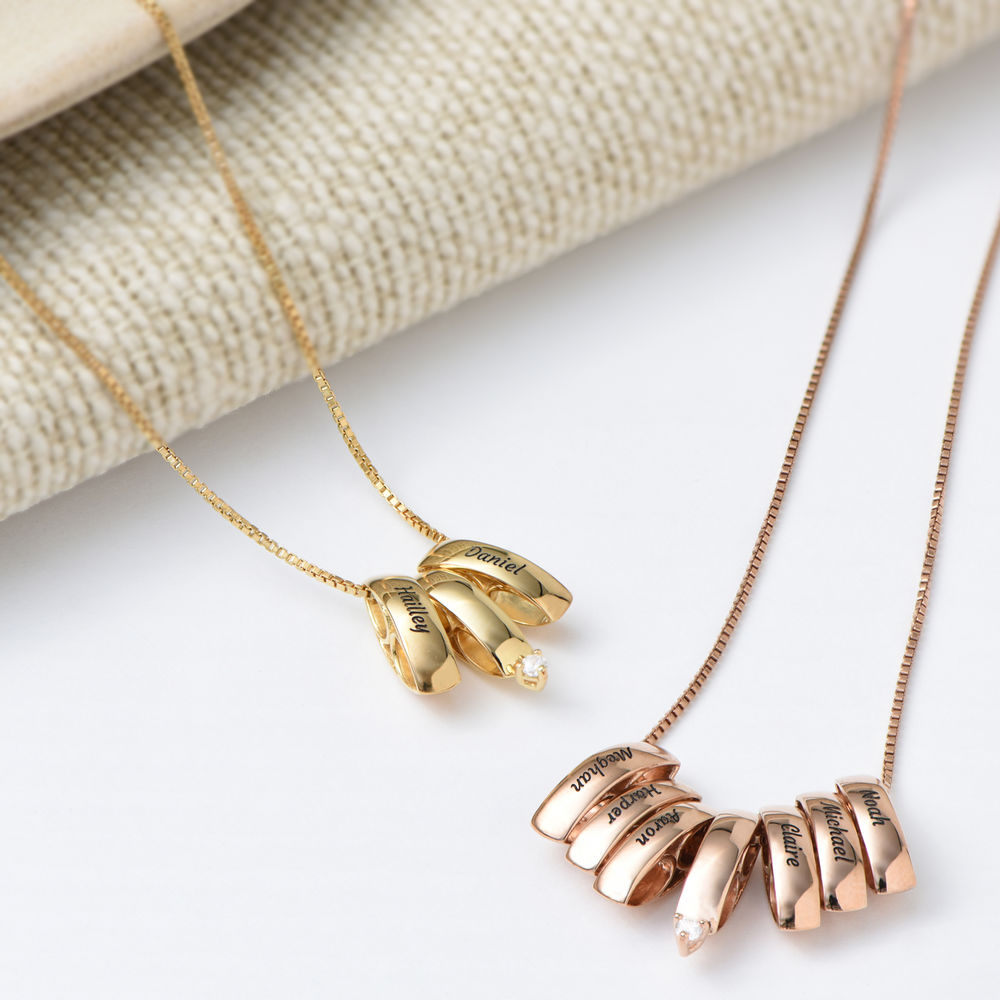 Whole Lot of Love Necklace in Gold Plating - 3