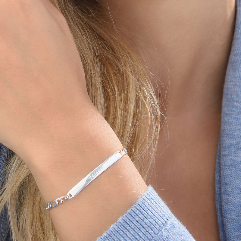 Women's ID Name Bracelet - 3
