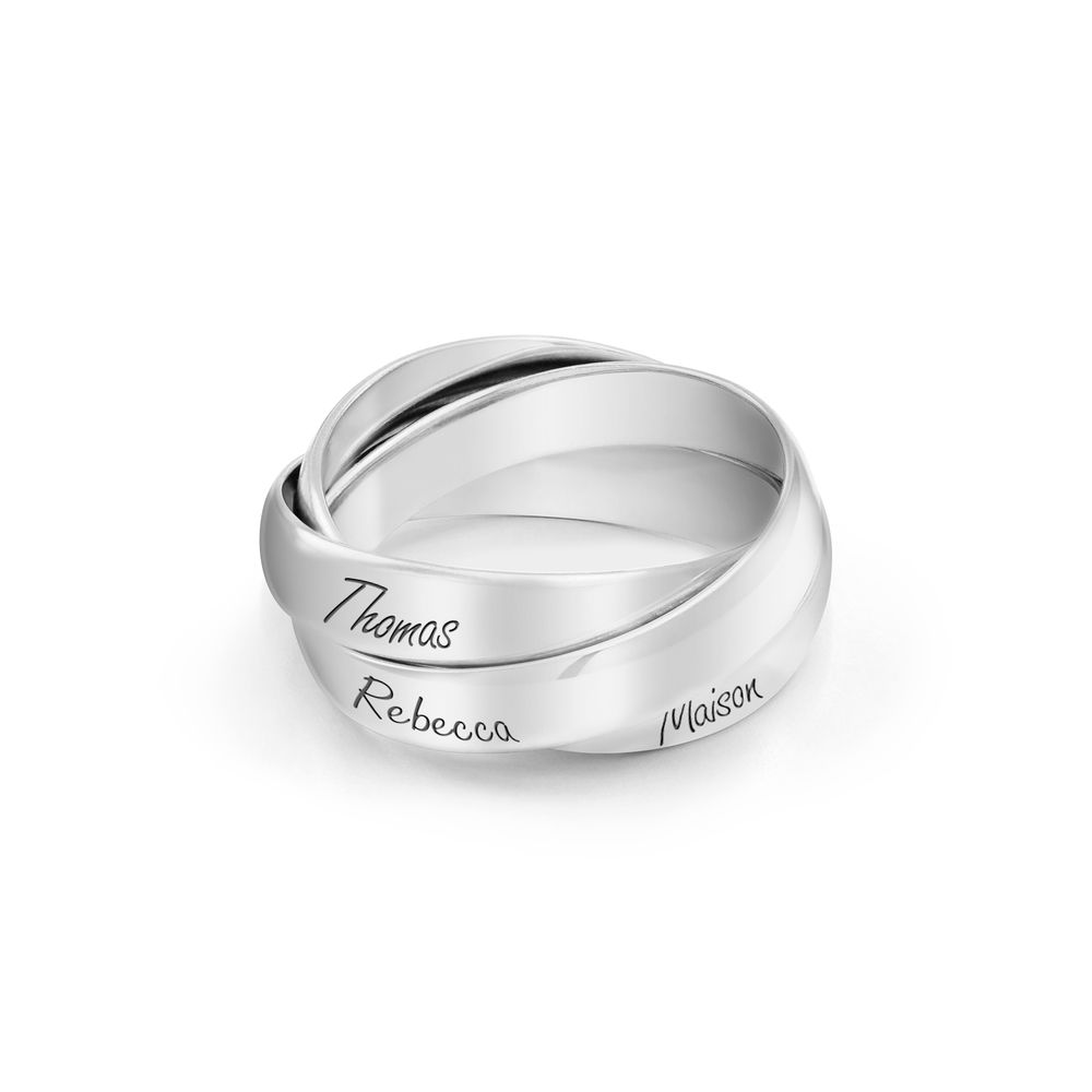 Charlize Russian Ring in Sterling Silver