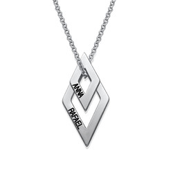 Personalised Geometric Necklace product photo