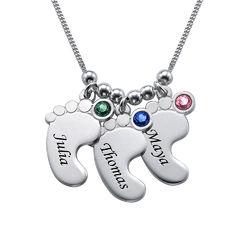 Mum Jewellery - Baby Feet Necklace product photo