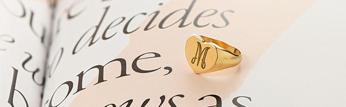 Custom Signet Rings