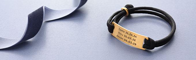 Engraved Men's Bracelets