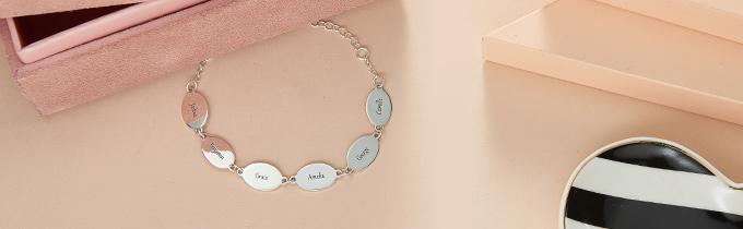 custom engraved bracelets