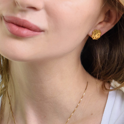 Monogram Earring Collection