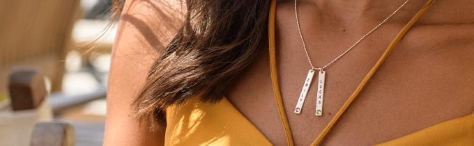 Swarovski necklaces and Swarovski rings