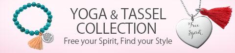 Yoga and Tassel Jewelry