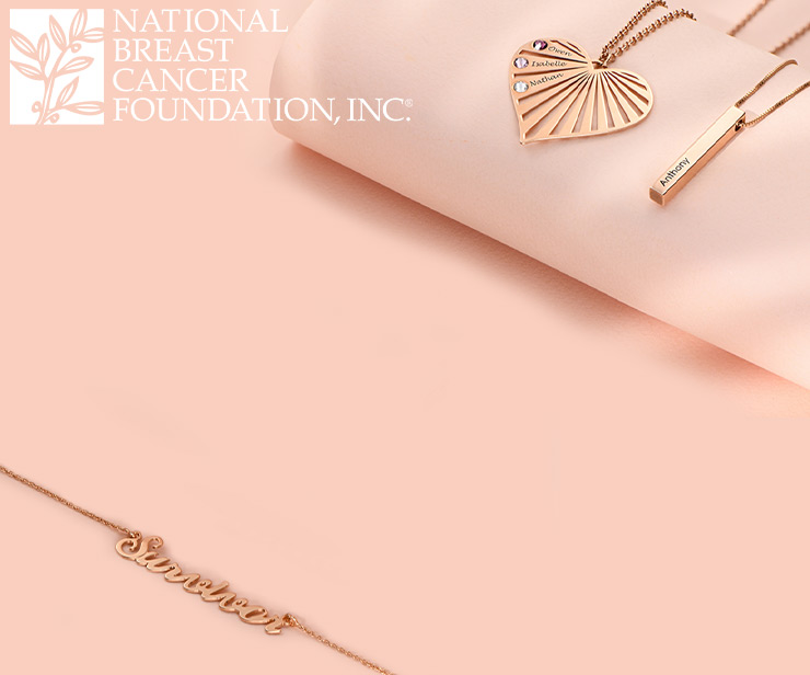 My Name Necklace Partners with National Breast Cancer Foundation