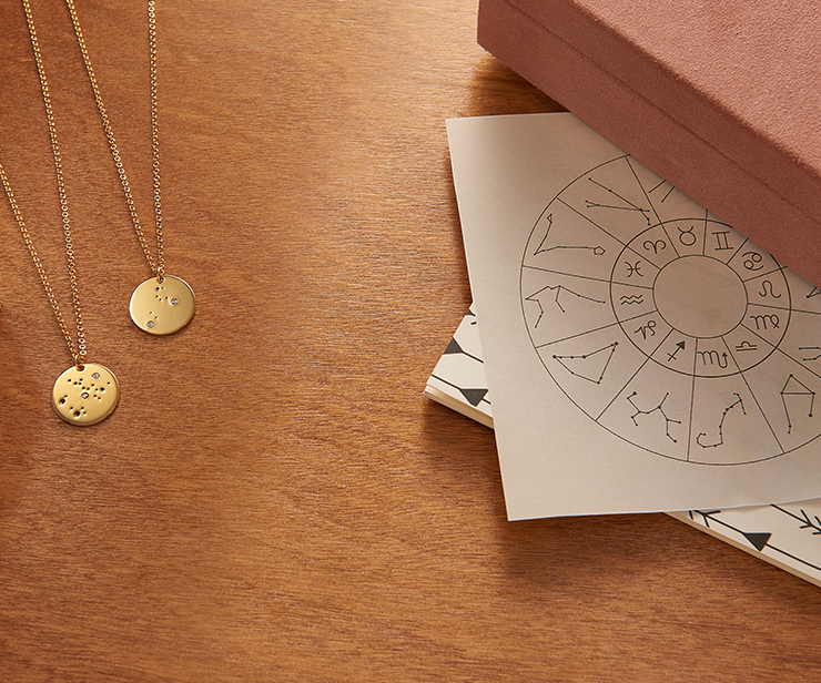 What's Your Sign? A Constellation Necklace For Every Zodiac Symbol