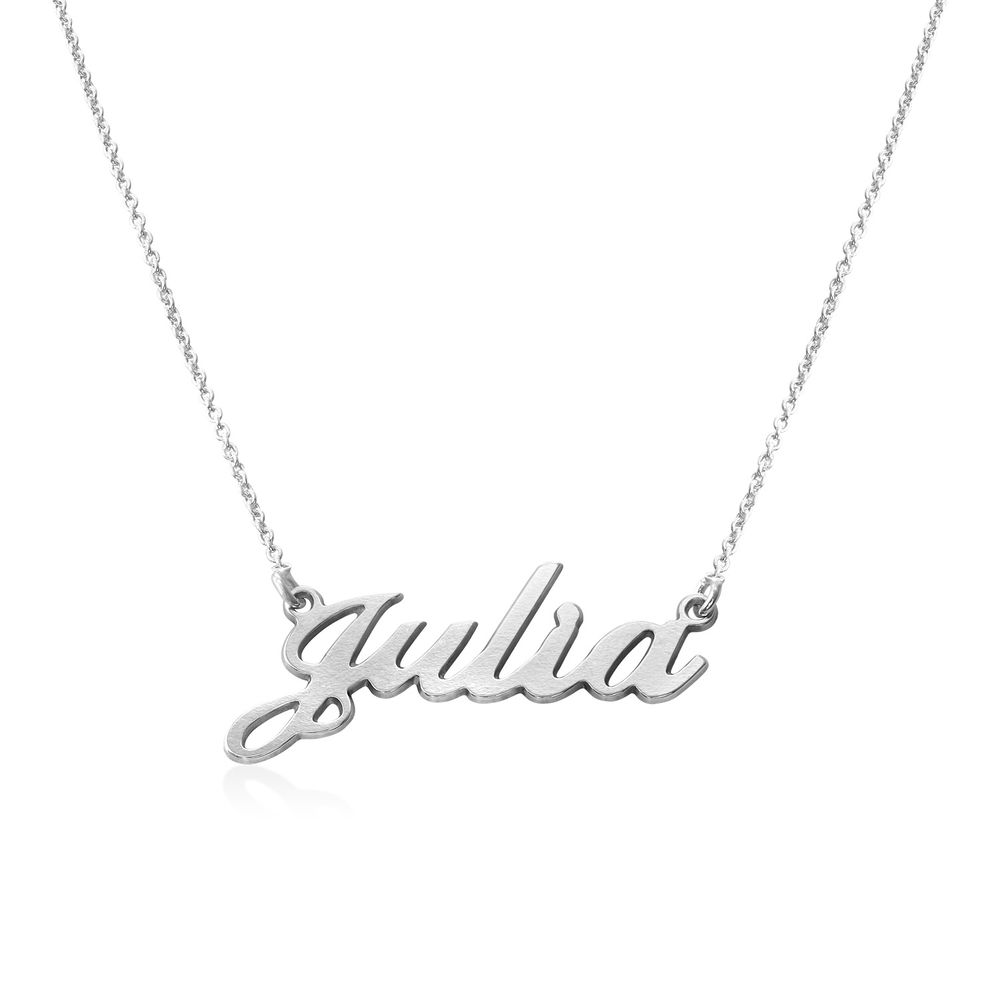 Personalized Classic Name Necklace in Sterling Silver