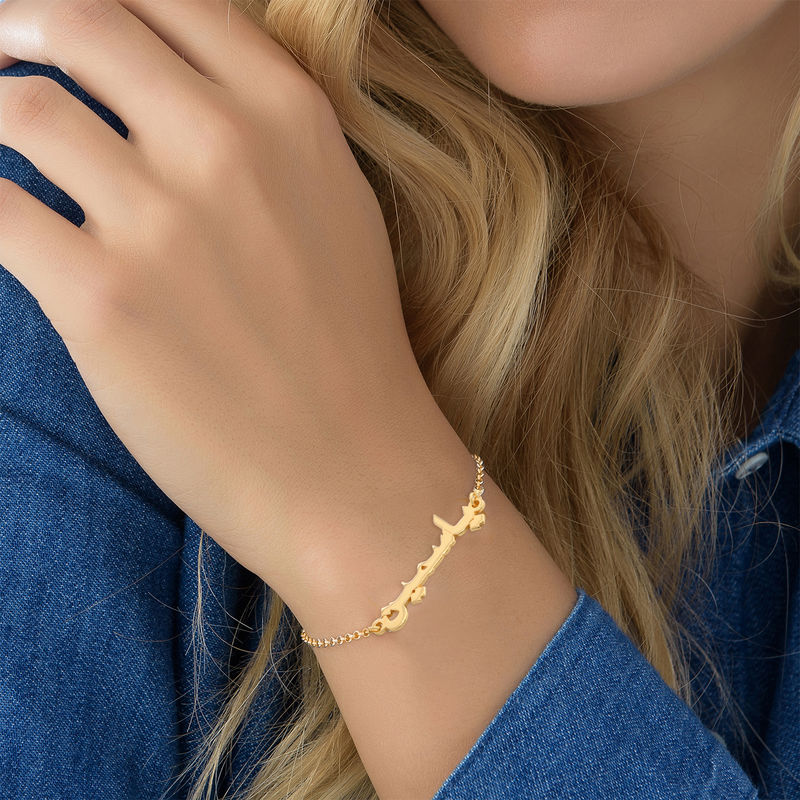Arabic Name Bracelet / Anklet in Gold Plating - 3