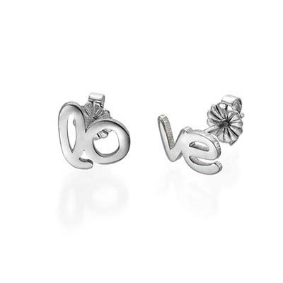 Hope and Love Stud Earrings - 1