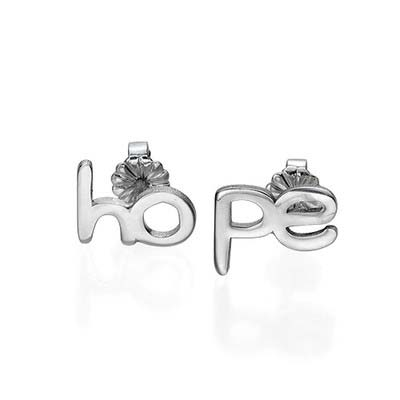 Hope and Love Stud Earrings - 2