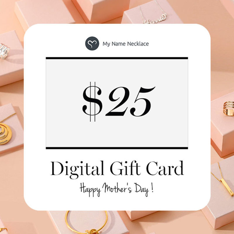 Digital Gift Card -Send Them the Gift of Choices