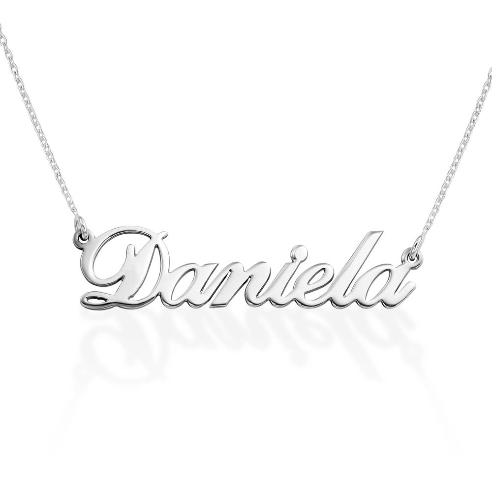 Personalized Classic Name Necklace in 940 Premium Silver