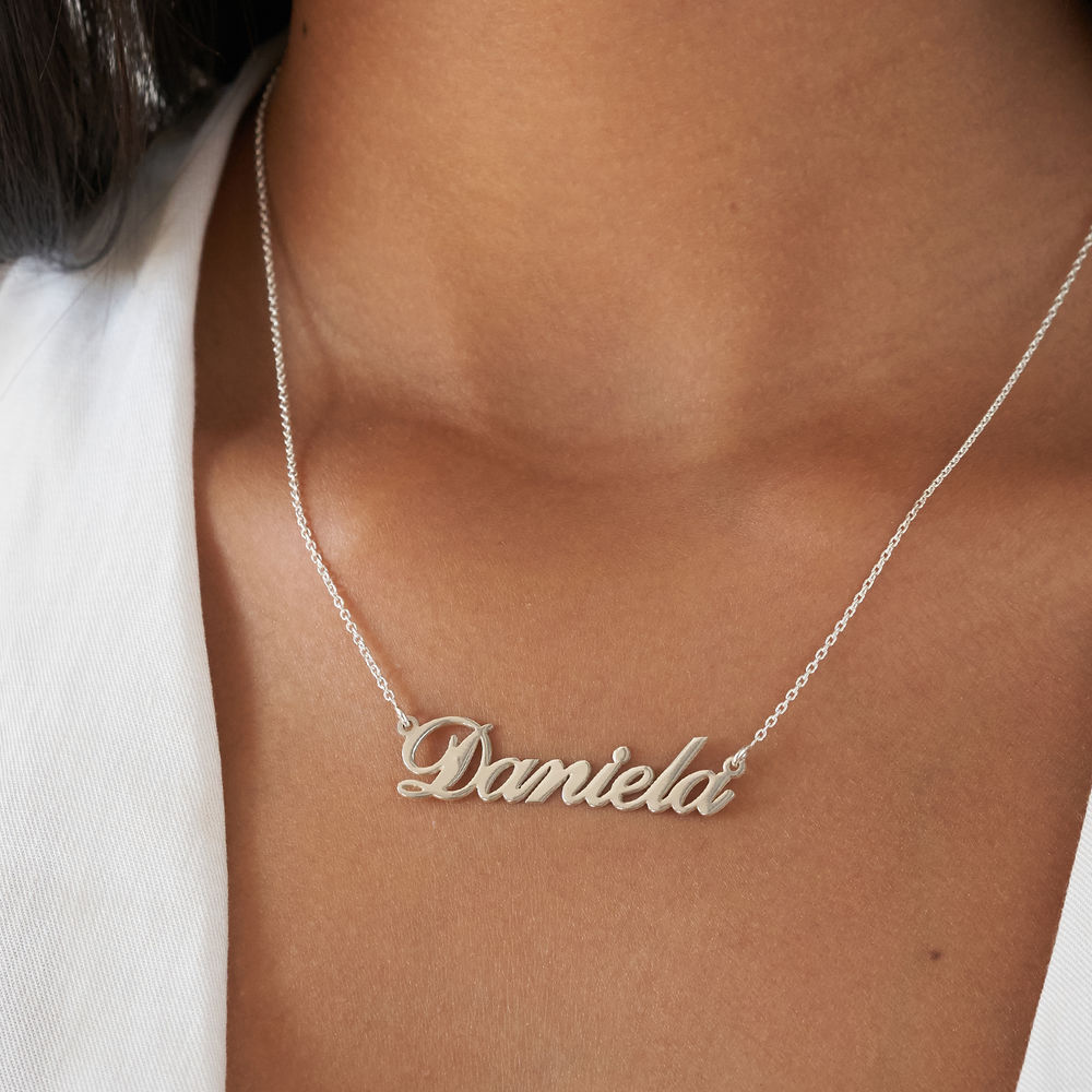 Personalized Classic Name Necklace in 940 Premium Silver - 3