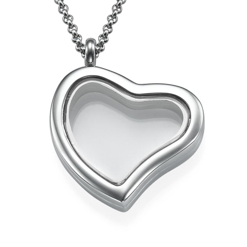 Silver Heart Locket