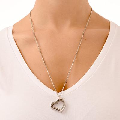 Silver Heart Locket - 2