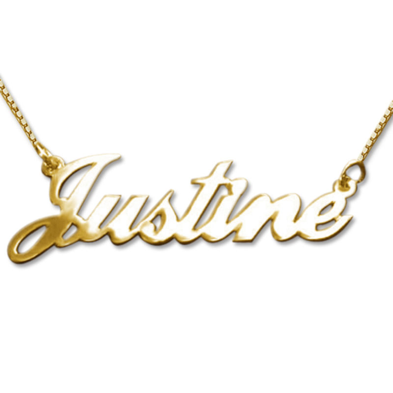 10k Gold Classic Name Necklace