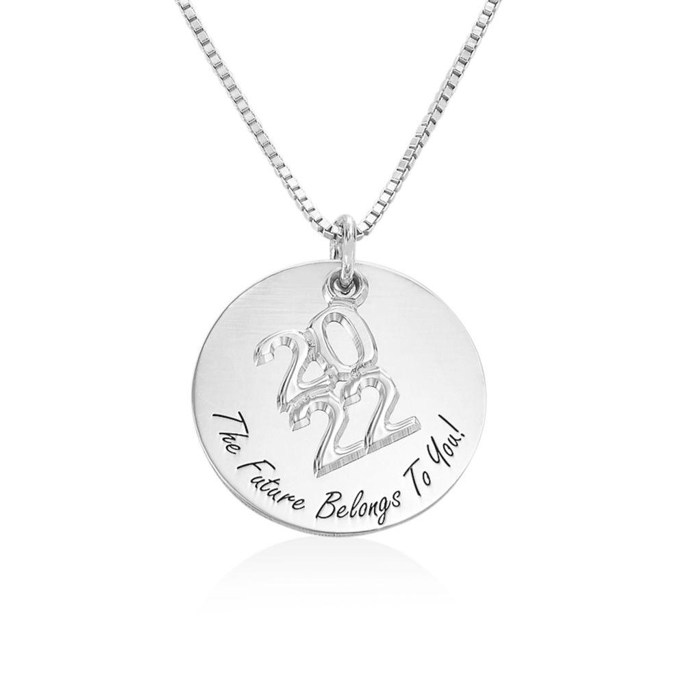 Engraved Graduation Necklace