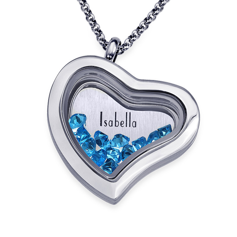 Birthstone Floating Locket