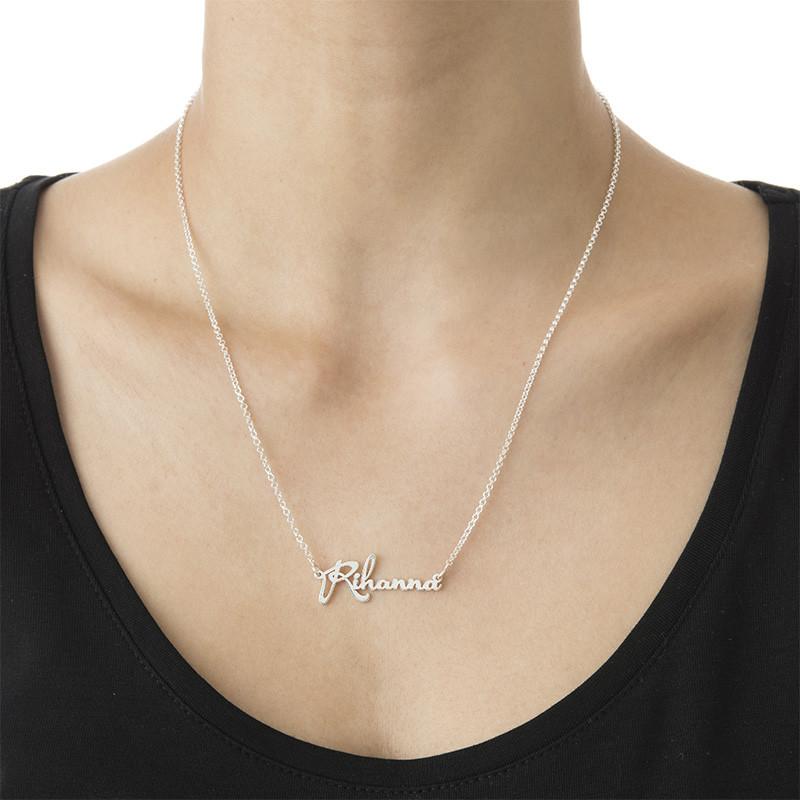 celebrity name necklace