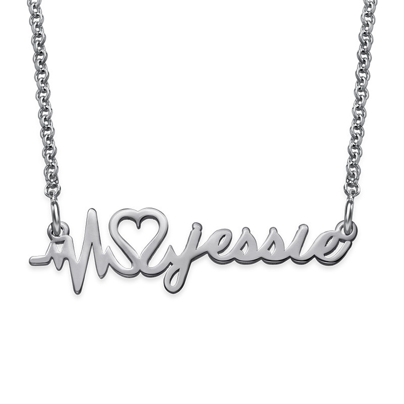 Signature Custom Heartbeat Necklace