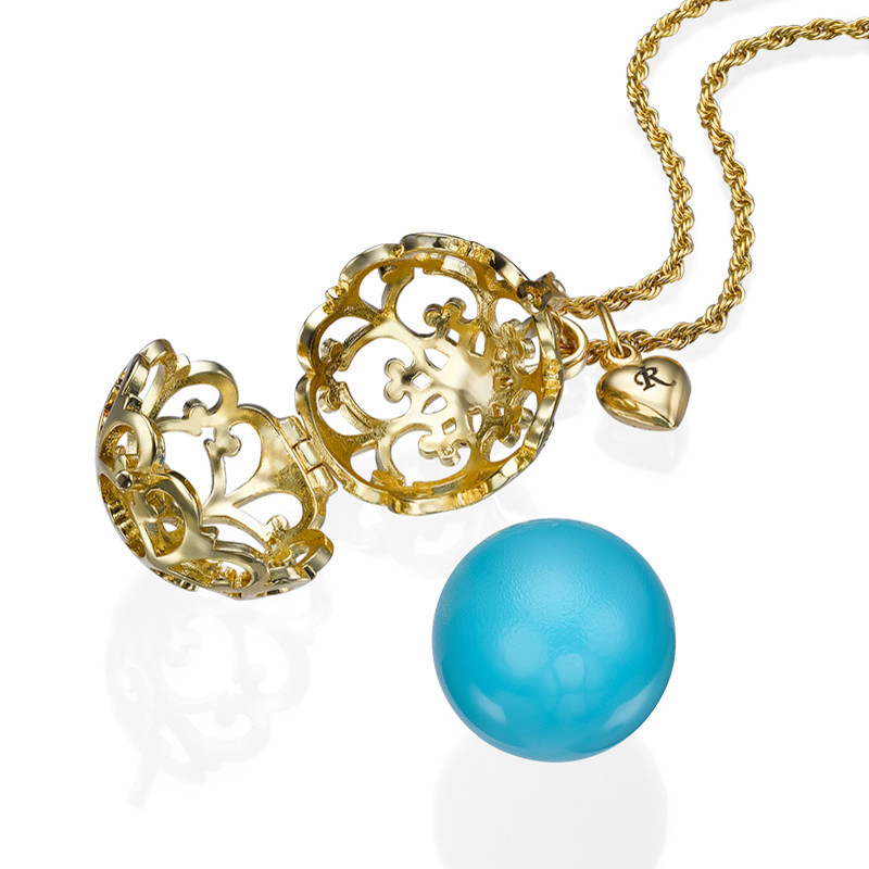Angel Caller Necklace with Gold Plating - 1