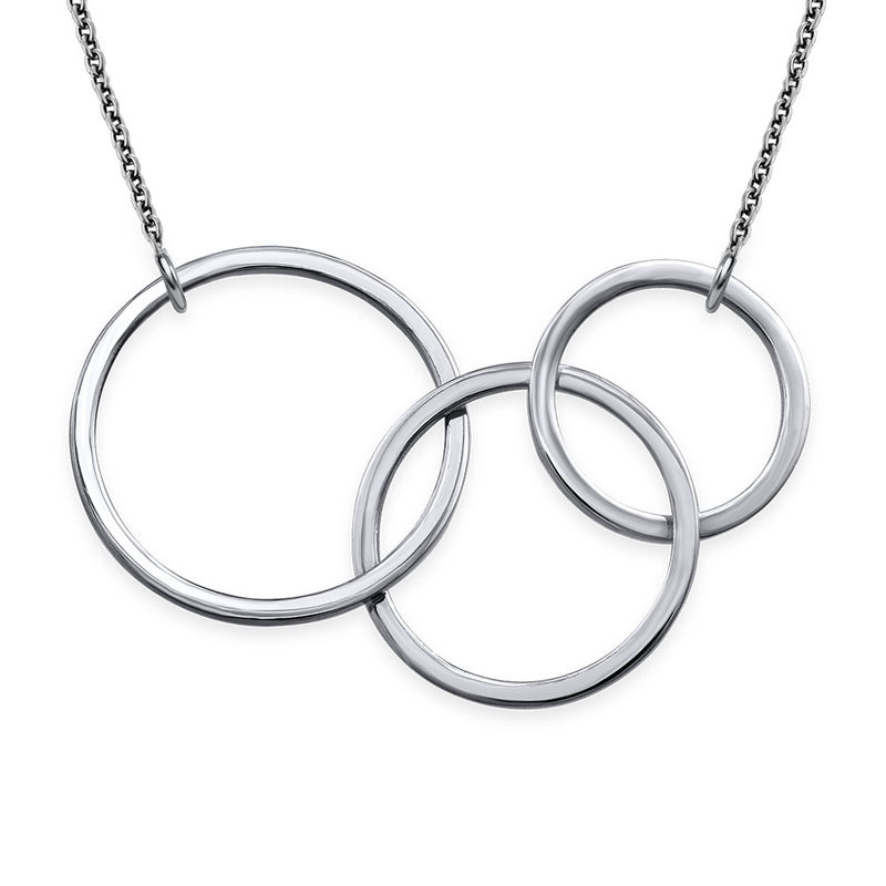 Holding Circles Necklace
