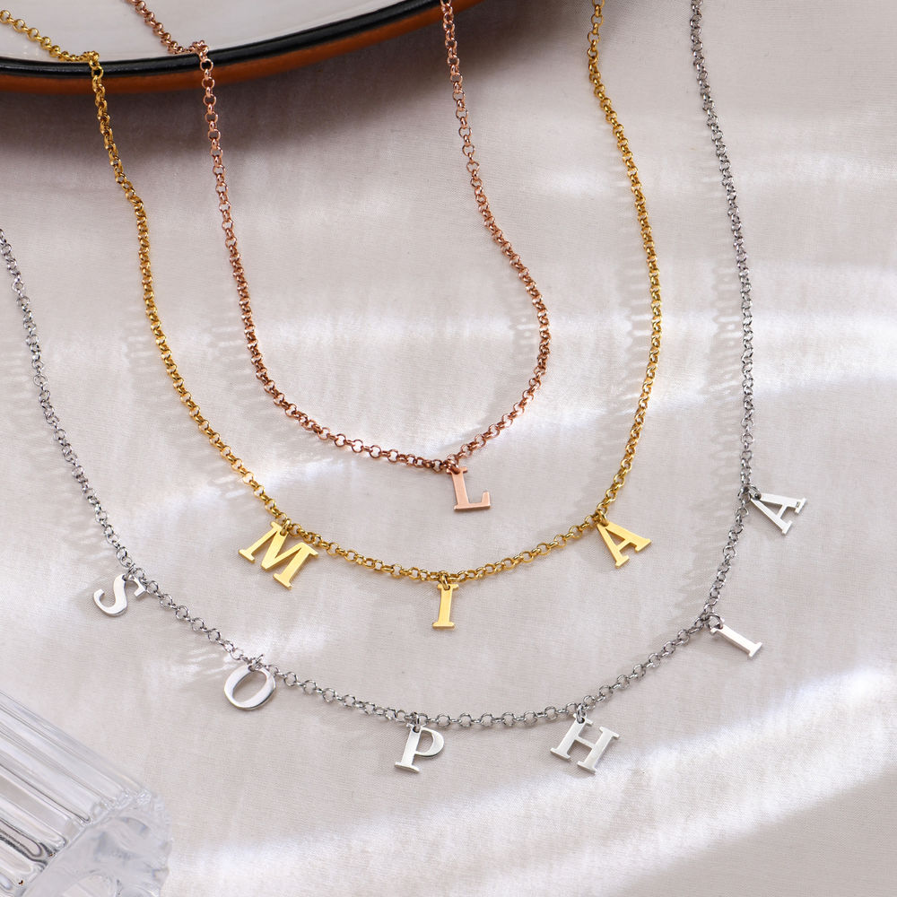 Name Choker in 18K Gold Plating - 2