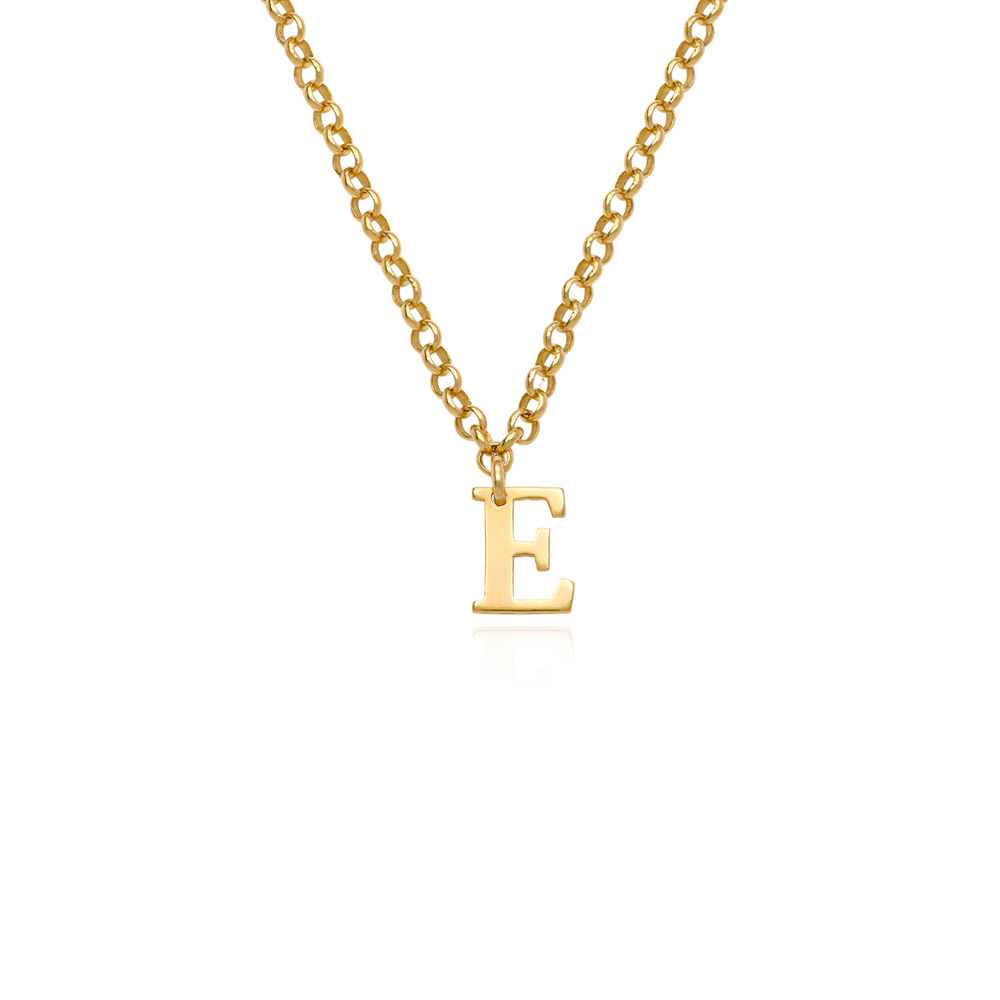 Name Choker in Gold Vermeil - 1
