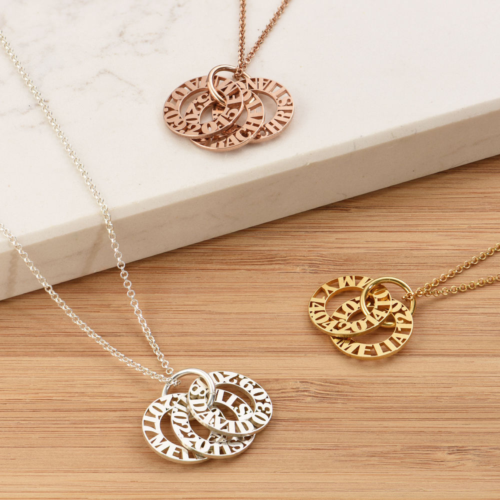 Personalized Mother Necklace in 940 Premium Silver - 3