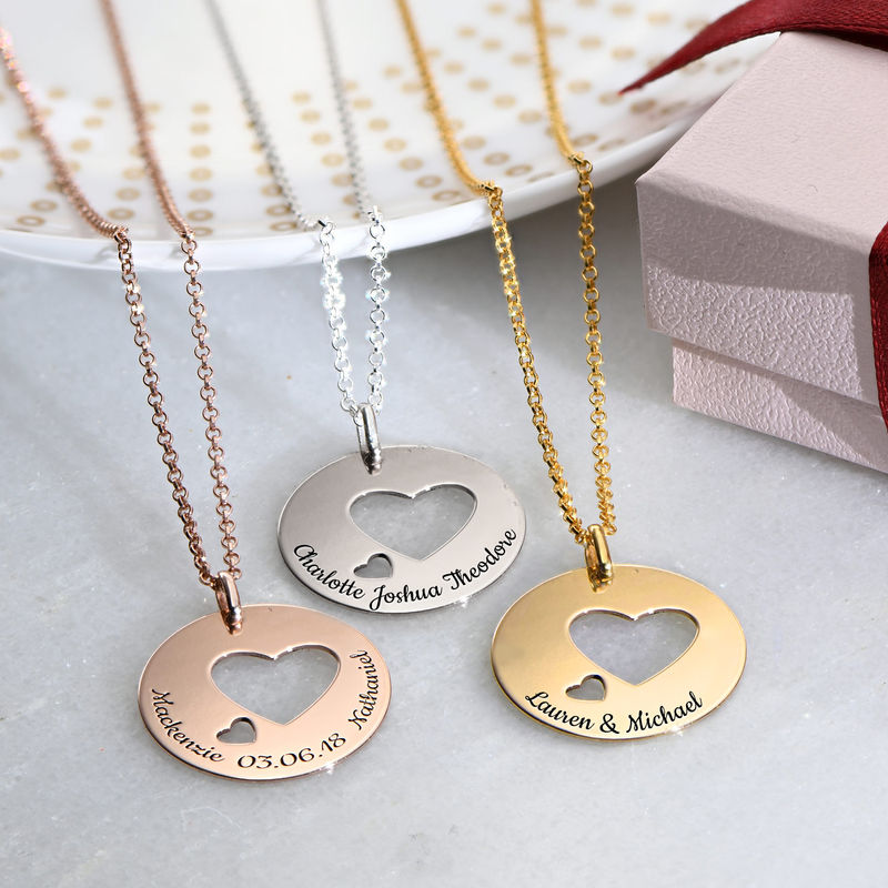 Love Circle in Rose Gold Plating - 1