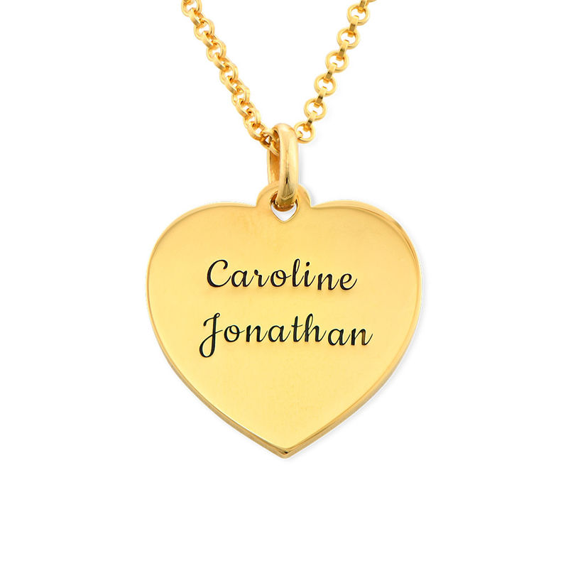 Heart Necklace in Gold Plating