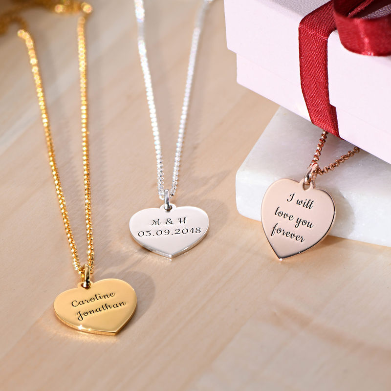 Heart Necklace in Gold Plating - 1