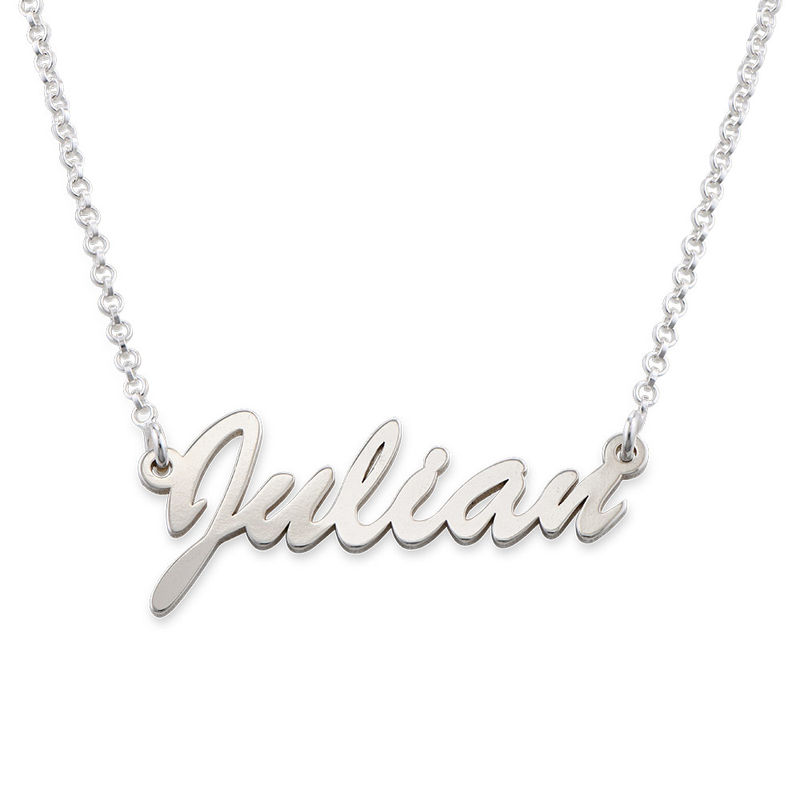 Name Necklace in Silver - 1