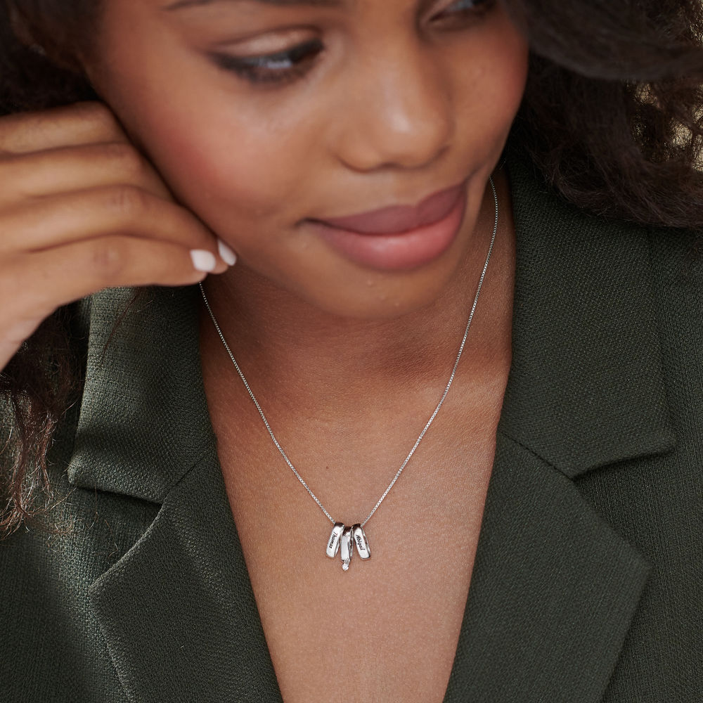 Whole Lot of Love Necklace in Sterling Silver - 3