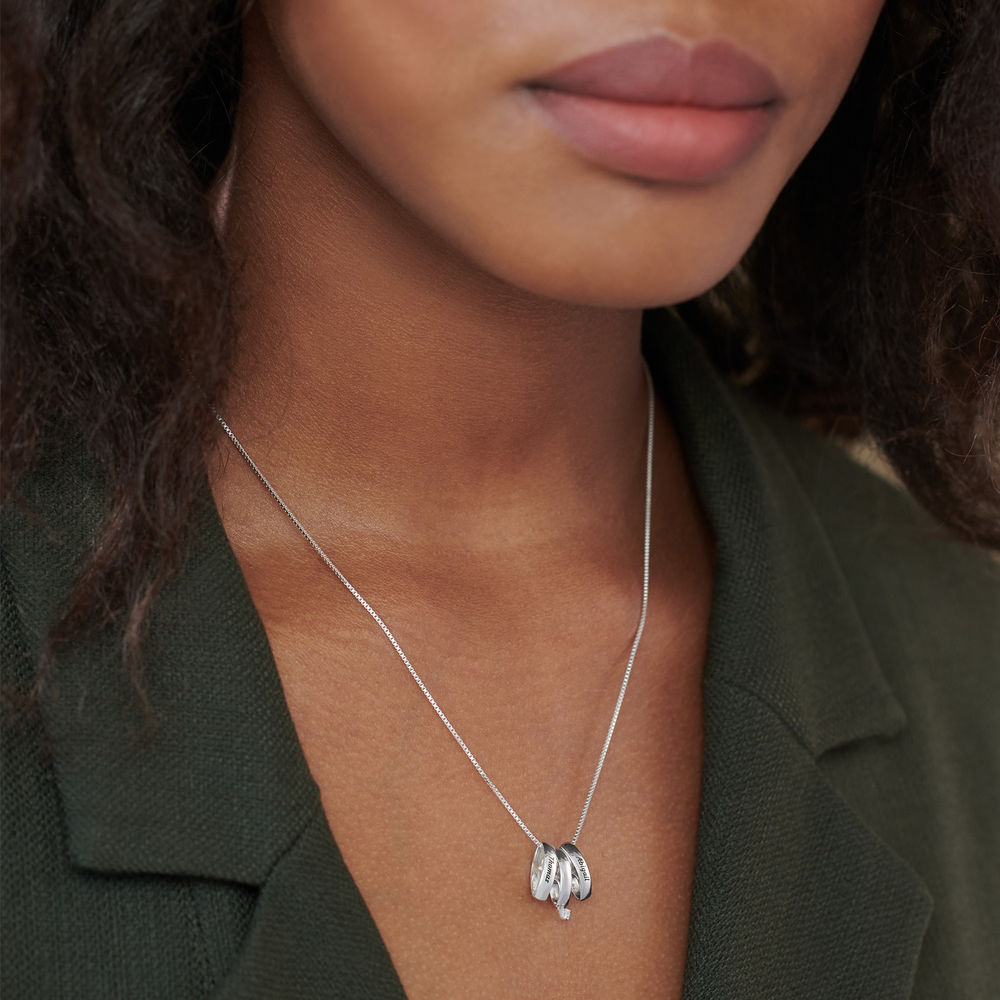 Whole Lot of Love Necklace in Sterling Silver - 4