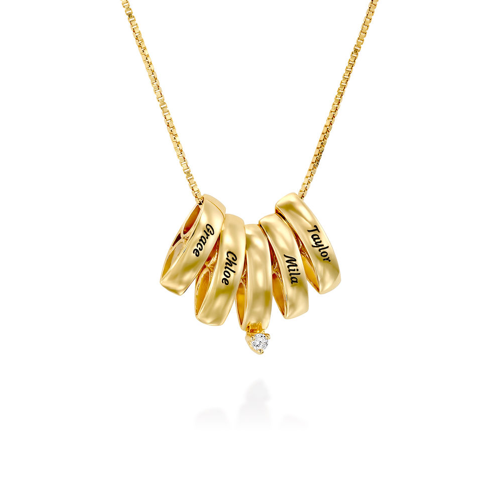 Whole Lot of Love Necklace in Gold Plating - 1