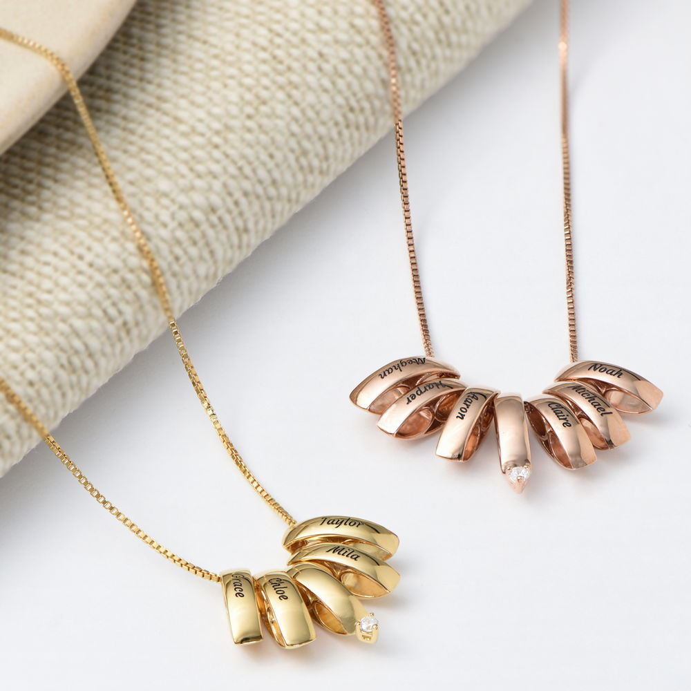 Whole Lot of Love Necklace in Gold Vermeil - 3