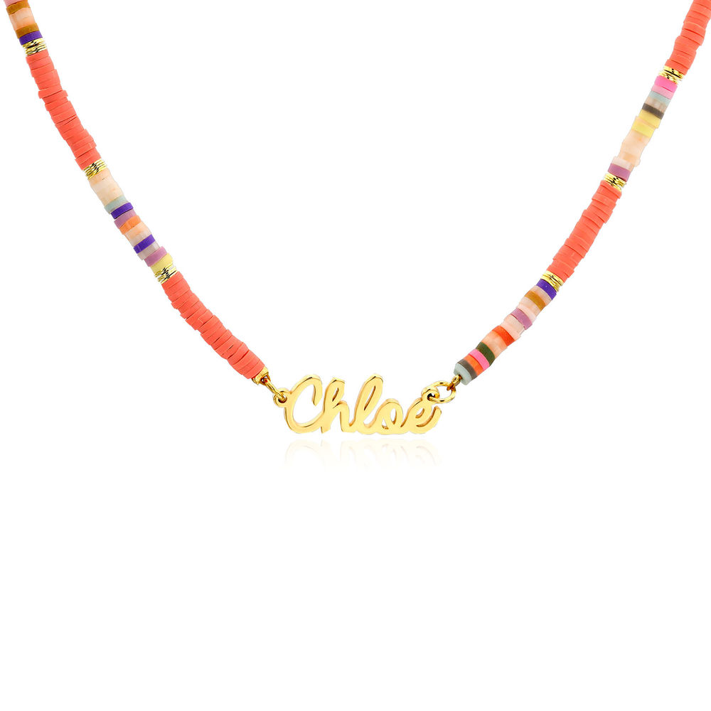 Sweet & Sour Name Necklace in Gold Plating