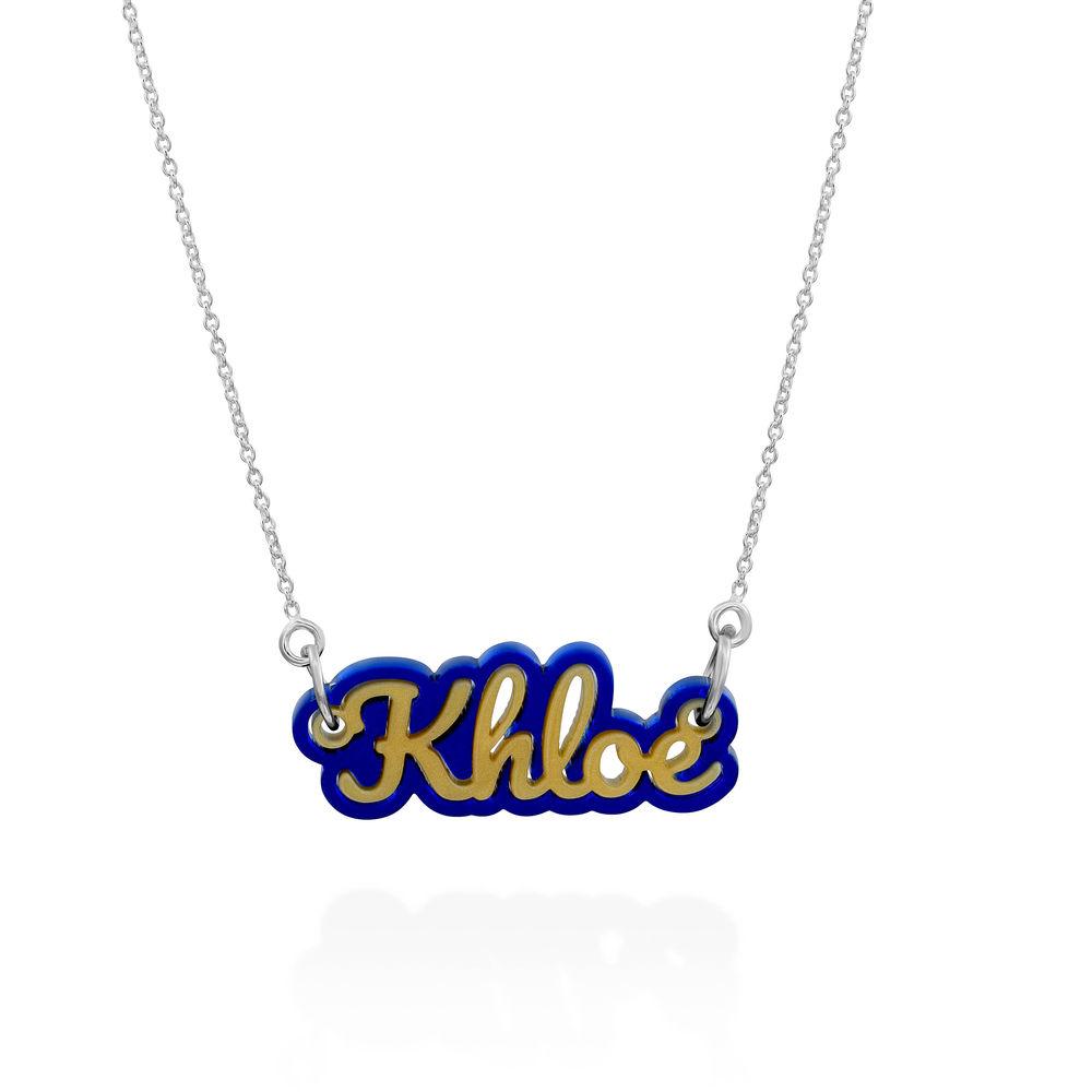 Bieber Acrylic Name Necklace - 2