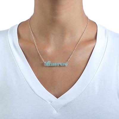 Acrylic Name Necklace - 1