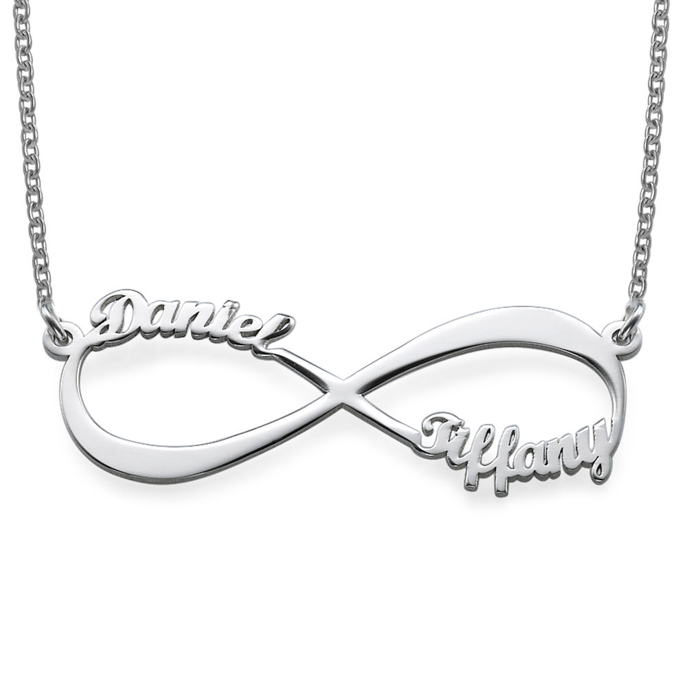 Infinity Name Necklace in 940 Premium Silver