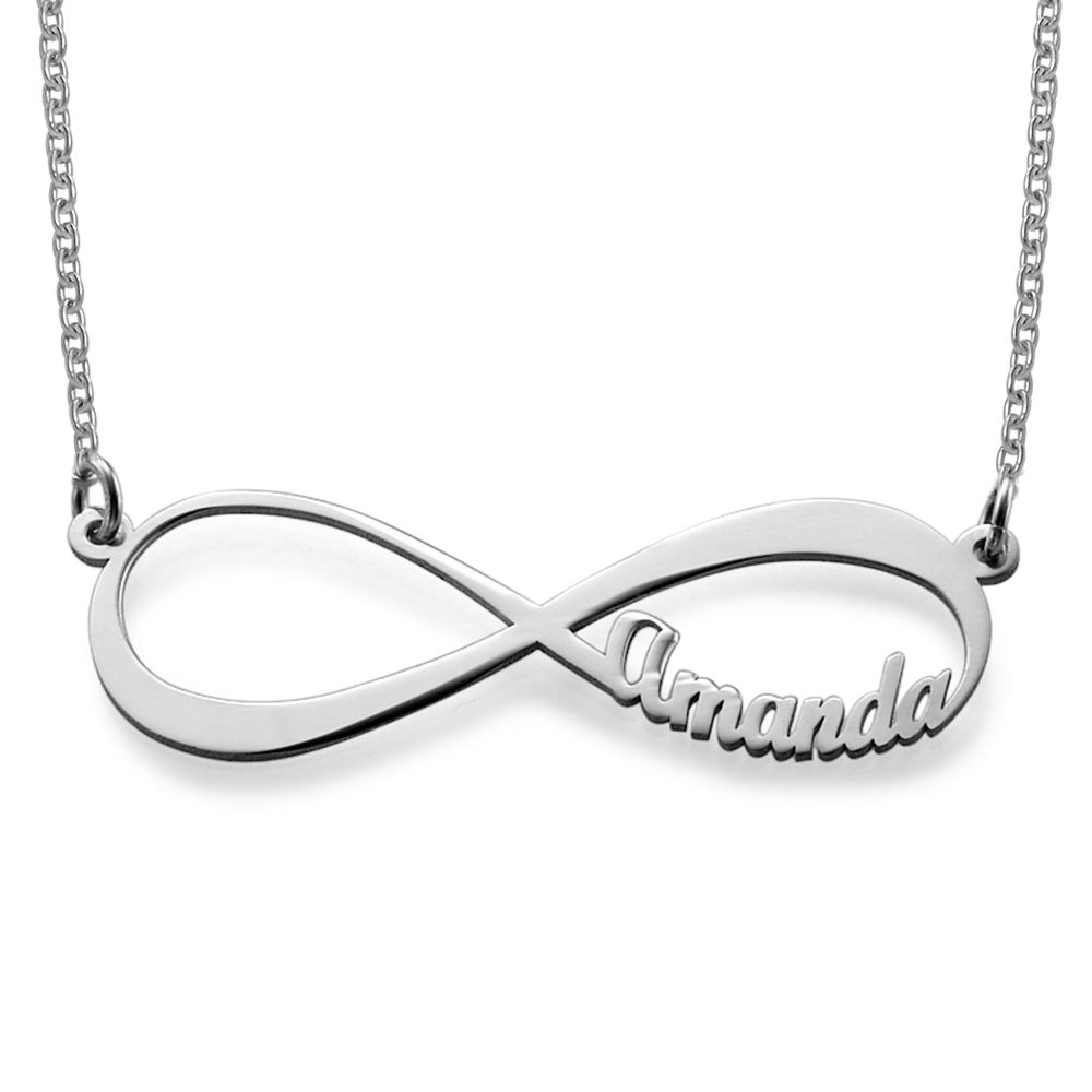 Infinity Name Necklace in 940 Premium Silver - 1